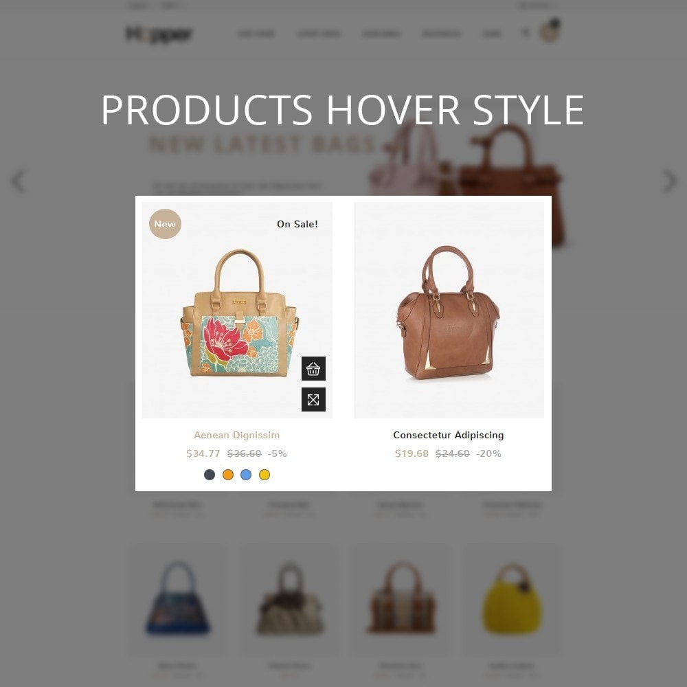 theme - Мода и обувь - Hopper Bag Store - 11
