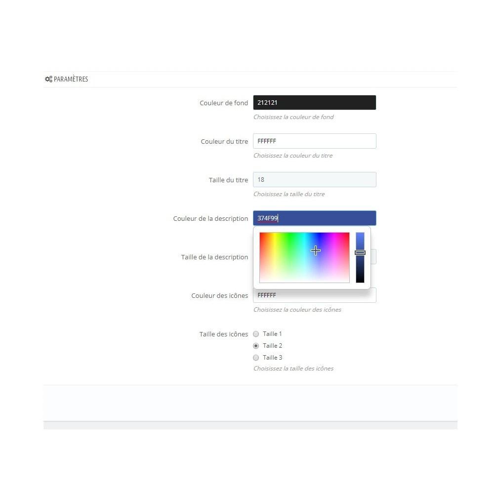 module - Information supplémentaire & Onglet produit - Rassurer le client grâce à des informations - 2