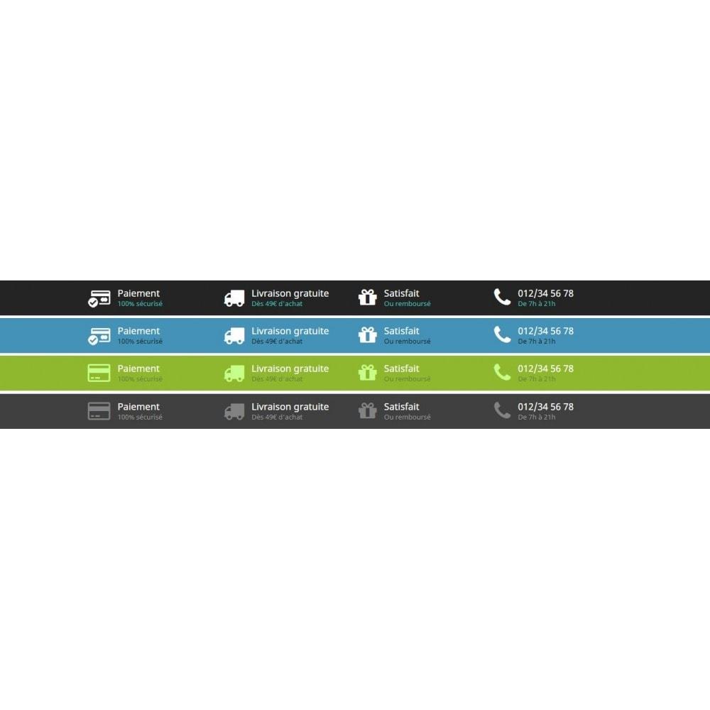 module - Information supplémentaire & Onglet produit - Rassurer le client grâce à des informations - 5