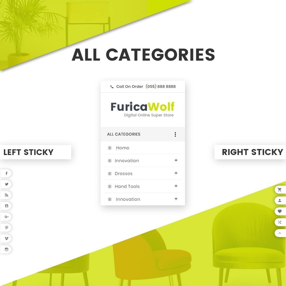 theme - Дом и сад - FuricaWolf – Furniture and Interior Super Store v2 - 8