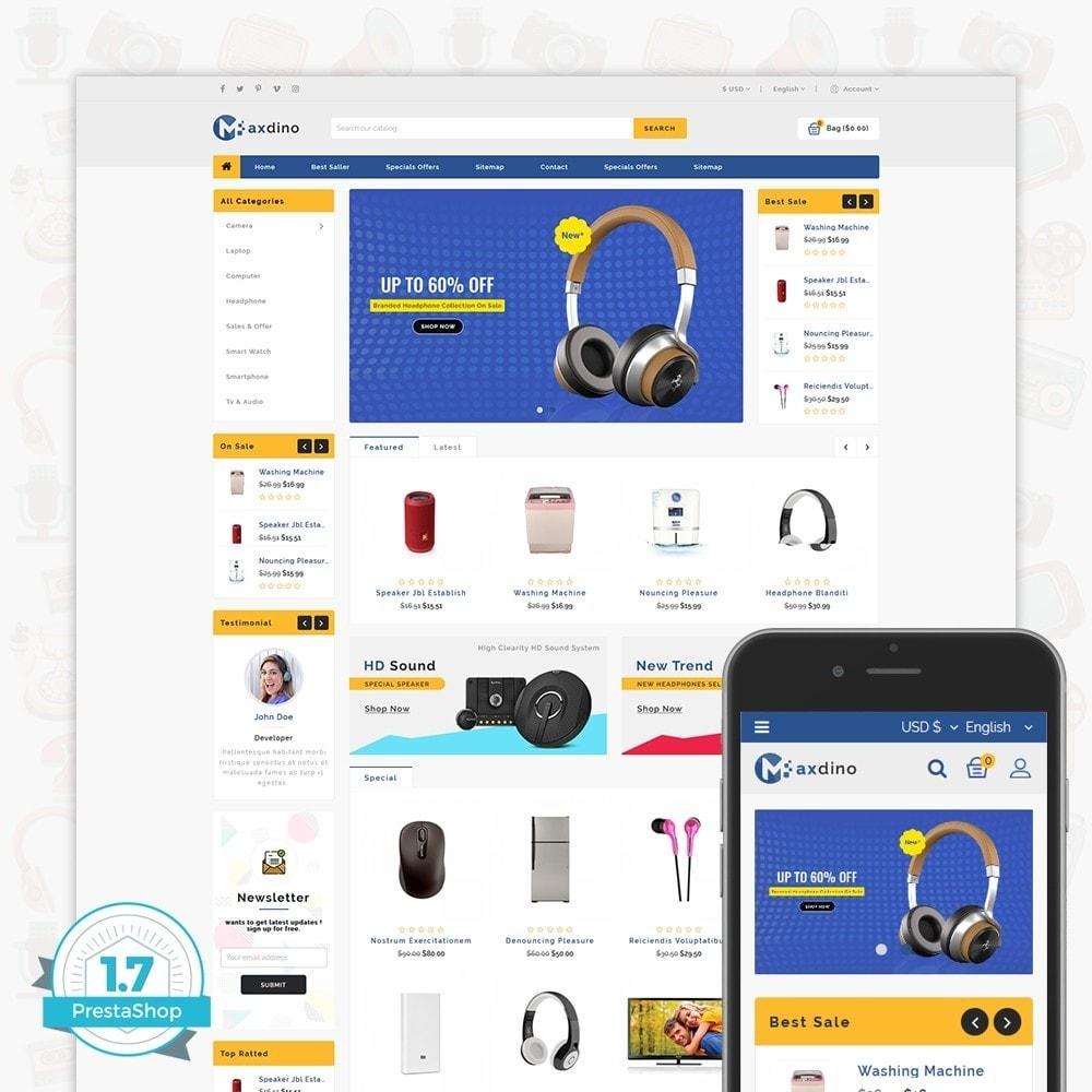 theme - Electronics & Computers - Maxdino - The Electronics Store - 1