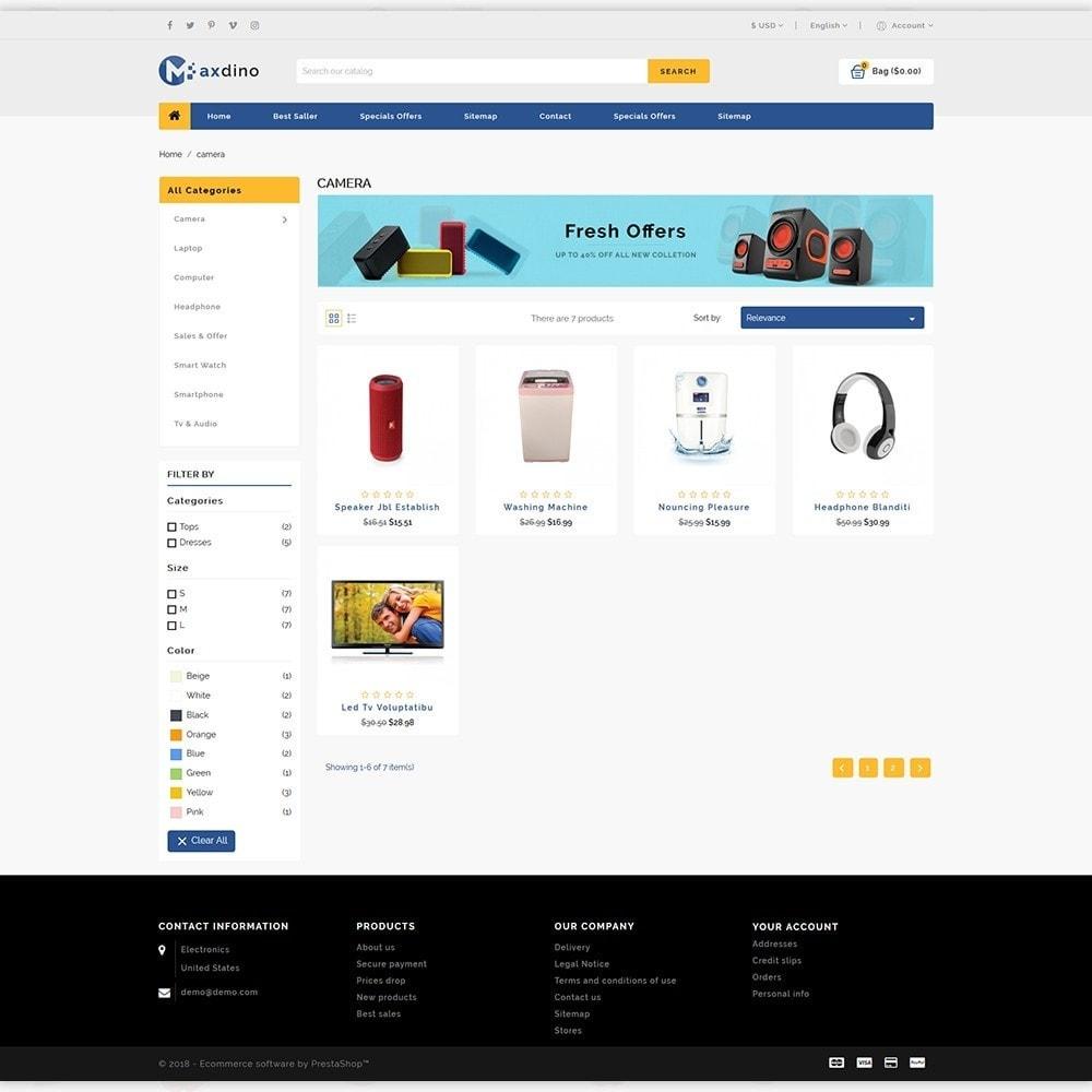 theme - Electronics & Computers - Maxdino - The Electronics Store - 3