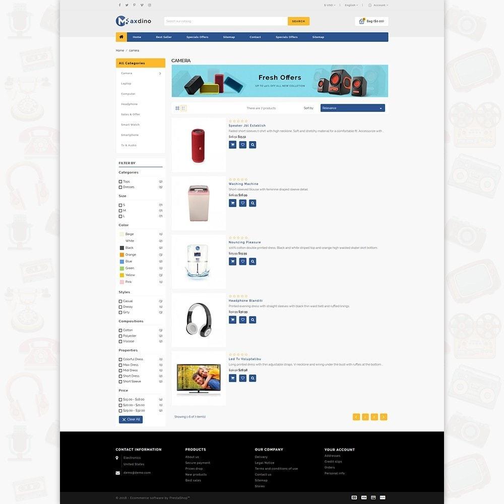 theme - Electronics & Computers - Maxdino - The Electronics Store - 4