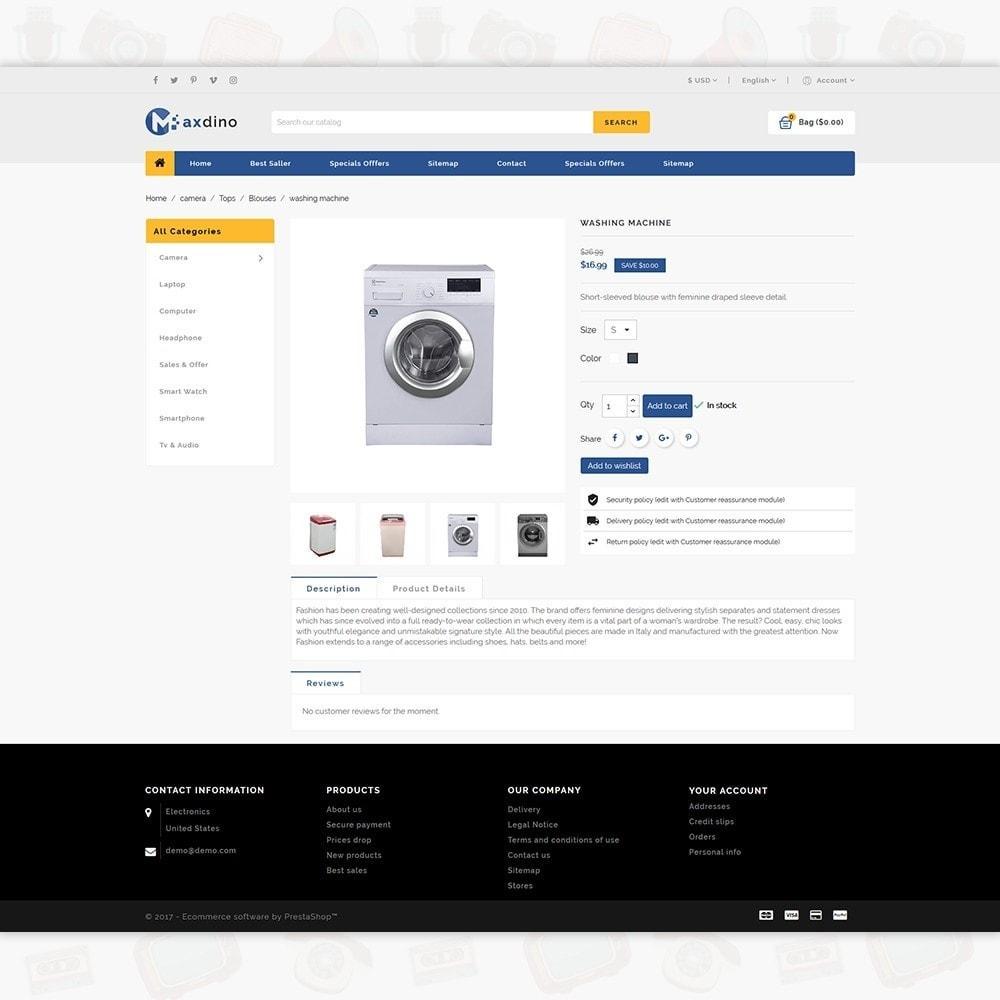 theme - Electronics & Computers - Maxdino - The Electronics Store - 5