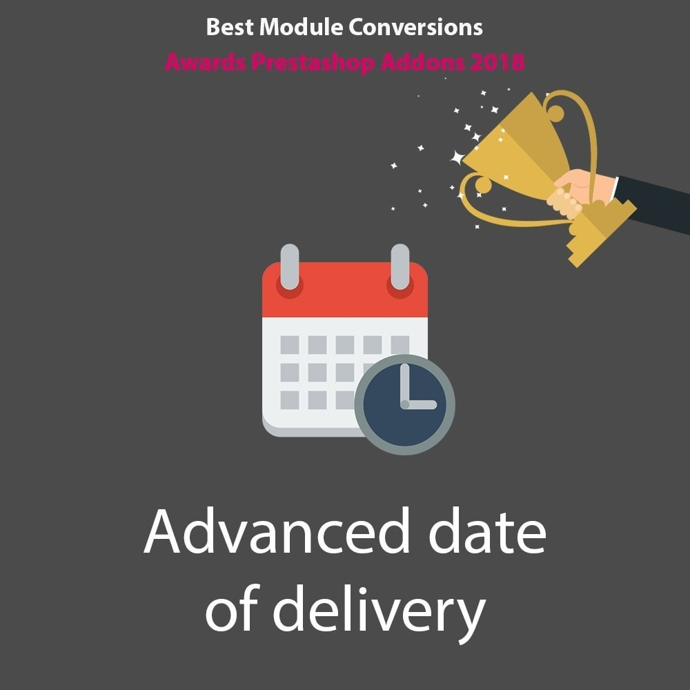 module - Delivery Date - Advanced date of delivery - 1