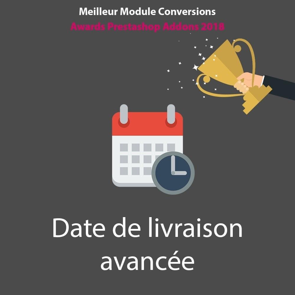 module - Date de livraison - Date de livraison avancée - 1