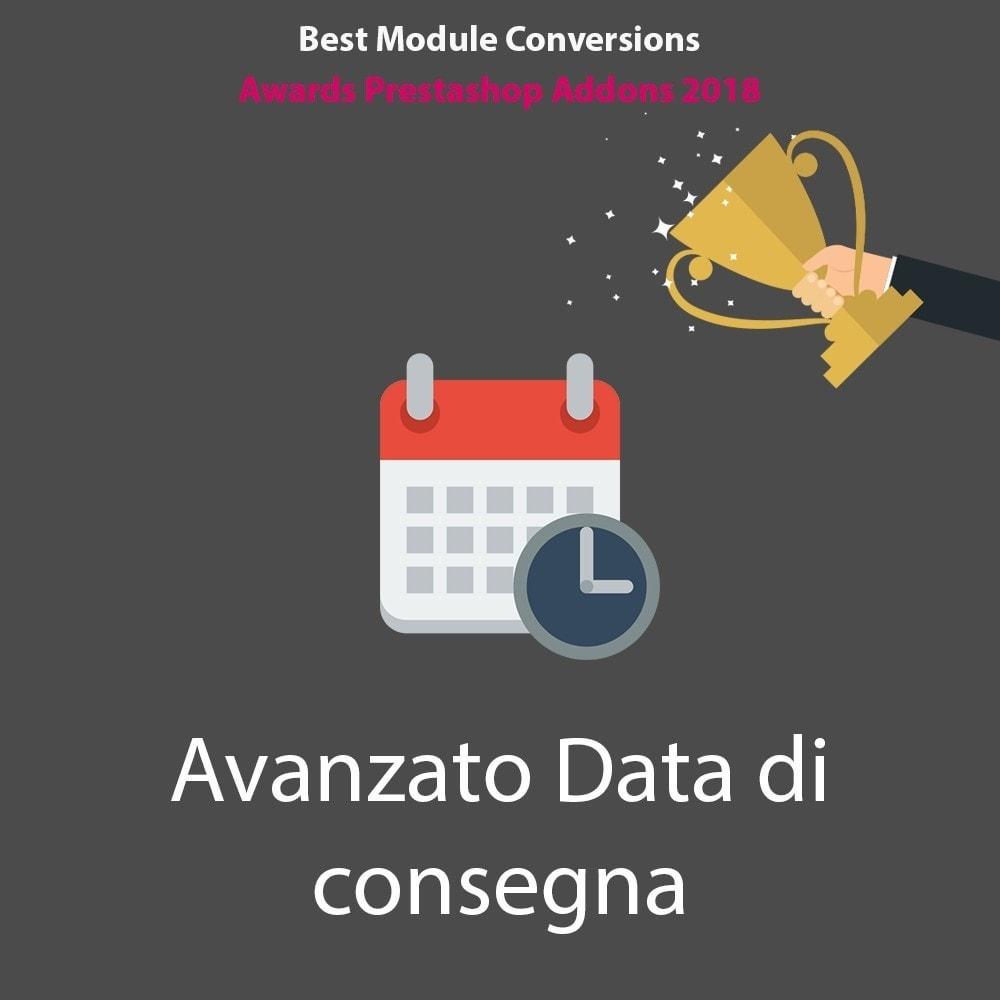 module - Data di Consegna - Avanzato Data di consegna - 1