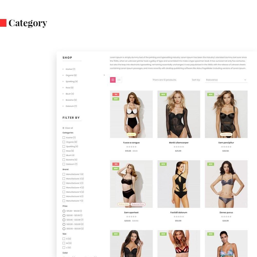 theme - Mode & Schoenen - Leo Secret - underwear & fashion - 6