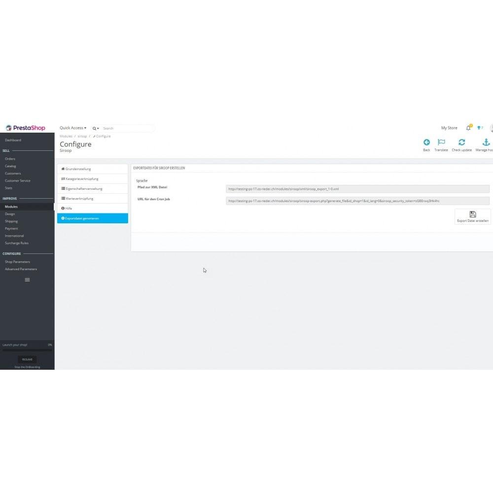 module - Importación y Exportación de datos - Siroop.ch Export - 6