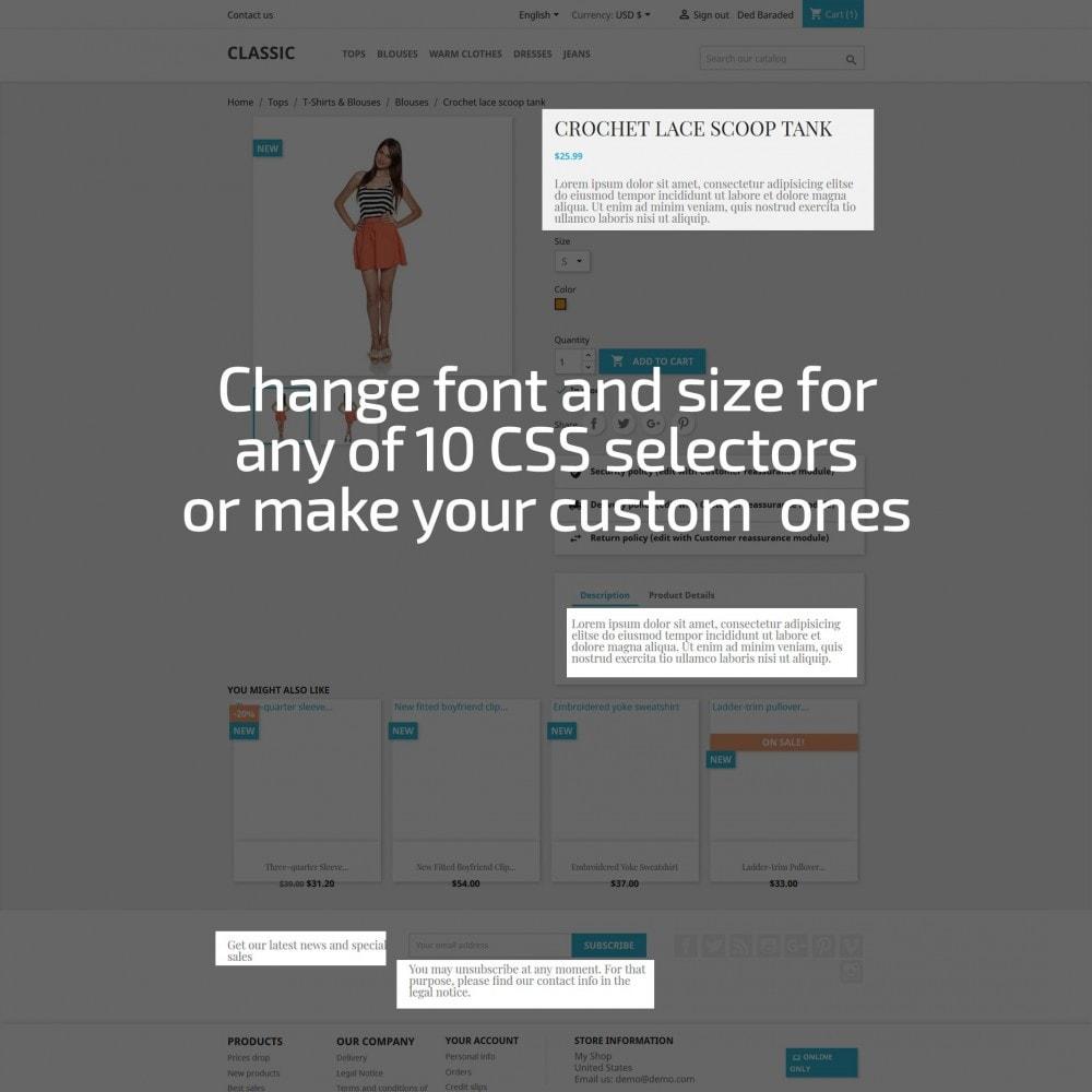 module - Personalización de la página - AN Google Fonts - 3