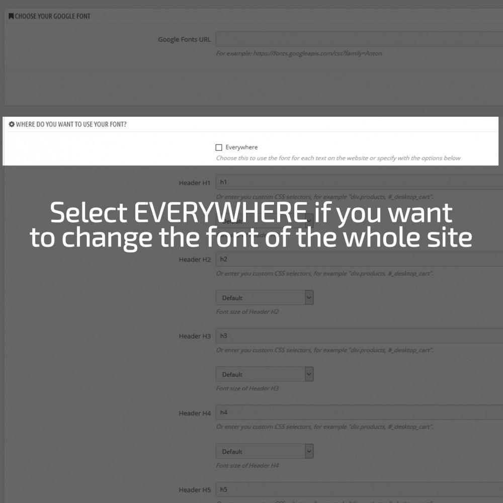 module - Page Customization - AN Google Fonts - 5