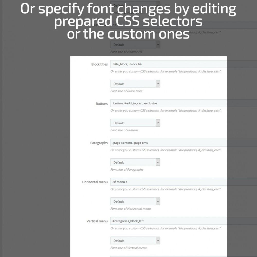 module - Personalización de la página - AN Google Fonts - 7