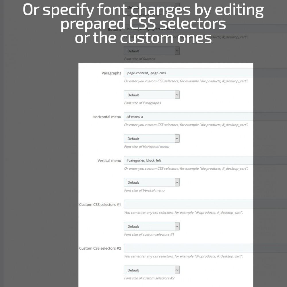 module - Page Customization - AN Google Fonts - 8