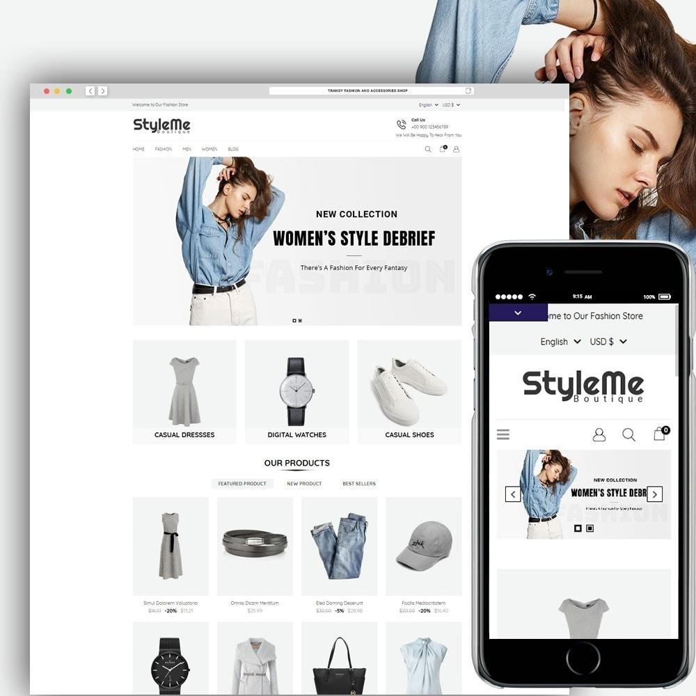 theme - Moda & Calçados - StyleMe Boutique - 1