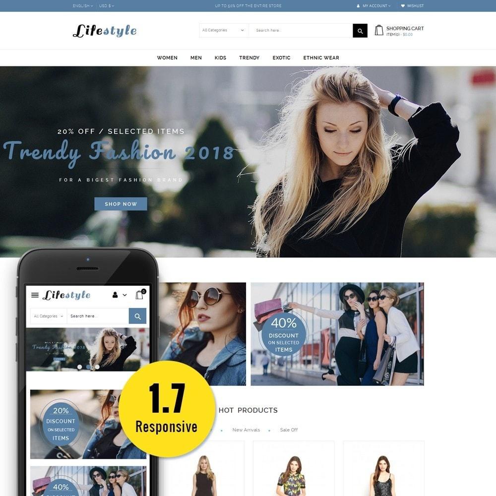 theme - Fashion & Shoes - Lifestyle Store - 1
