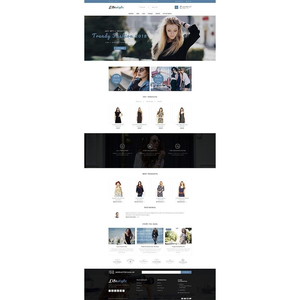 theme - Fashion & Shoes - Lifestyle Store - 2