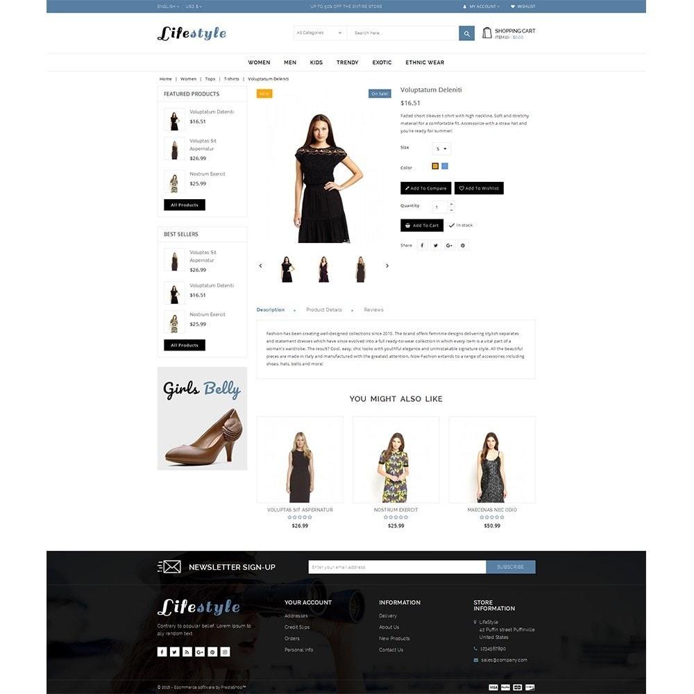 theme - Fashion & Shoes - Lifestyle Store - 5
