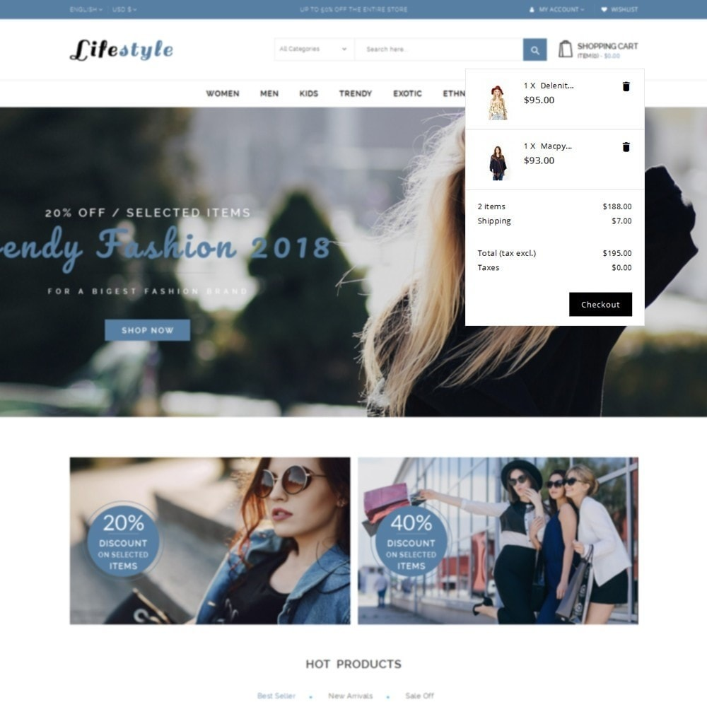 theme - Fashion & Shoes - Lifestyle Store - 8