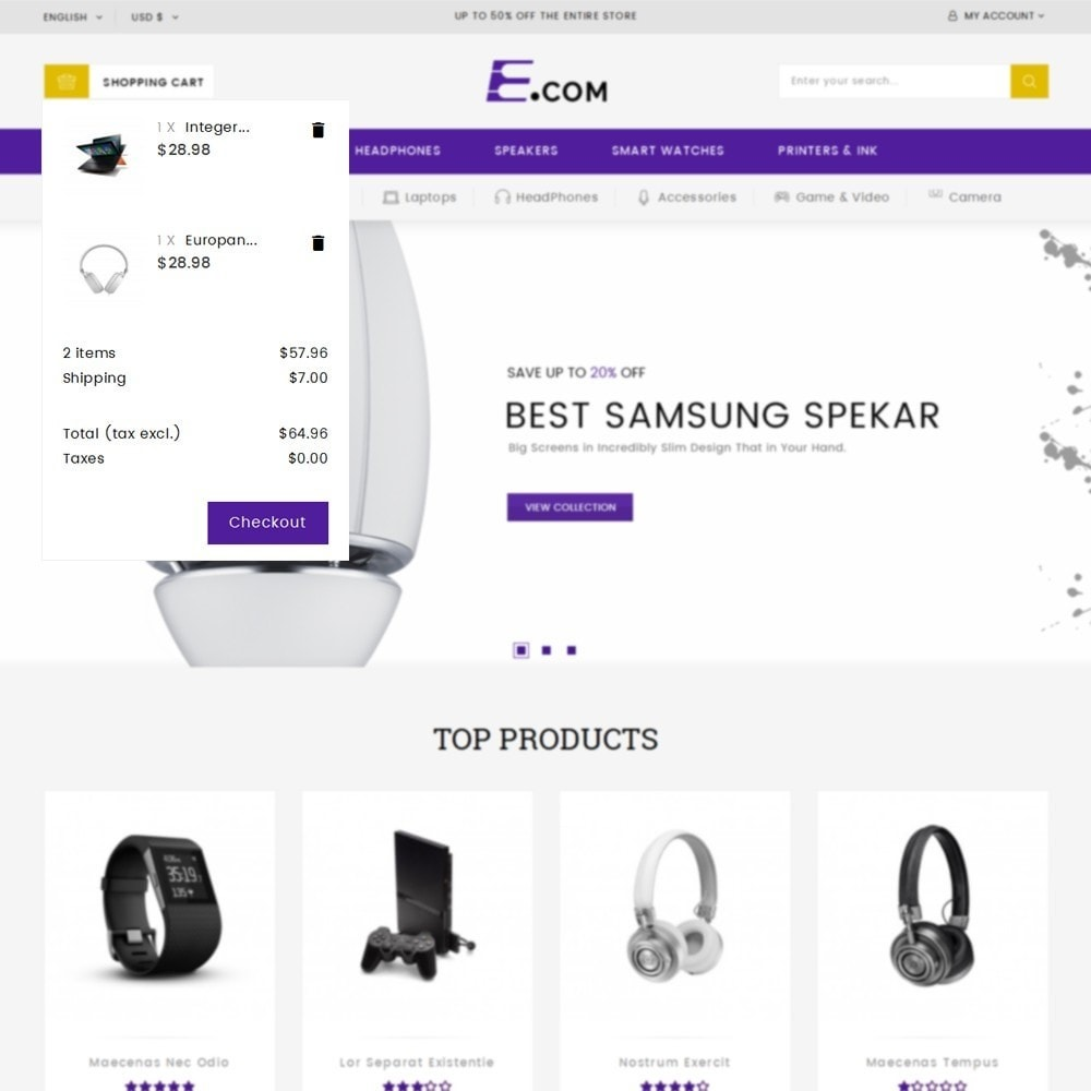 theme - Elettronica & High Tech - E-com Electronics Store - 8