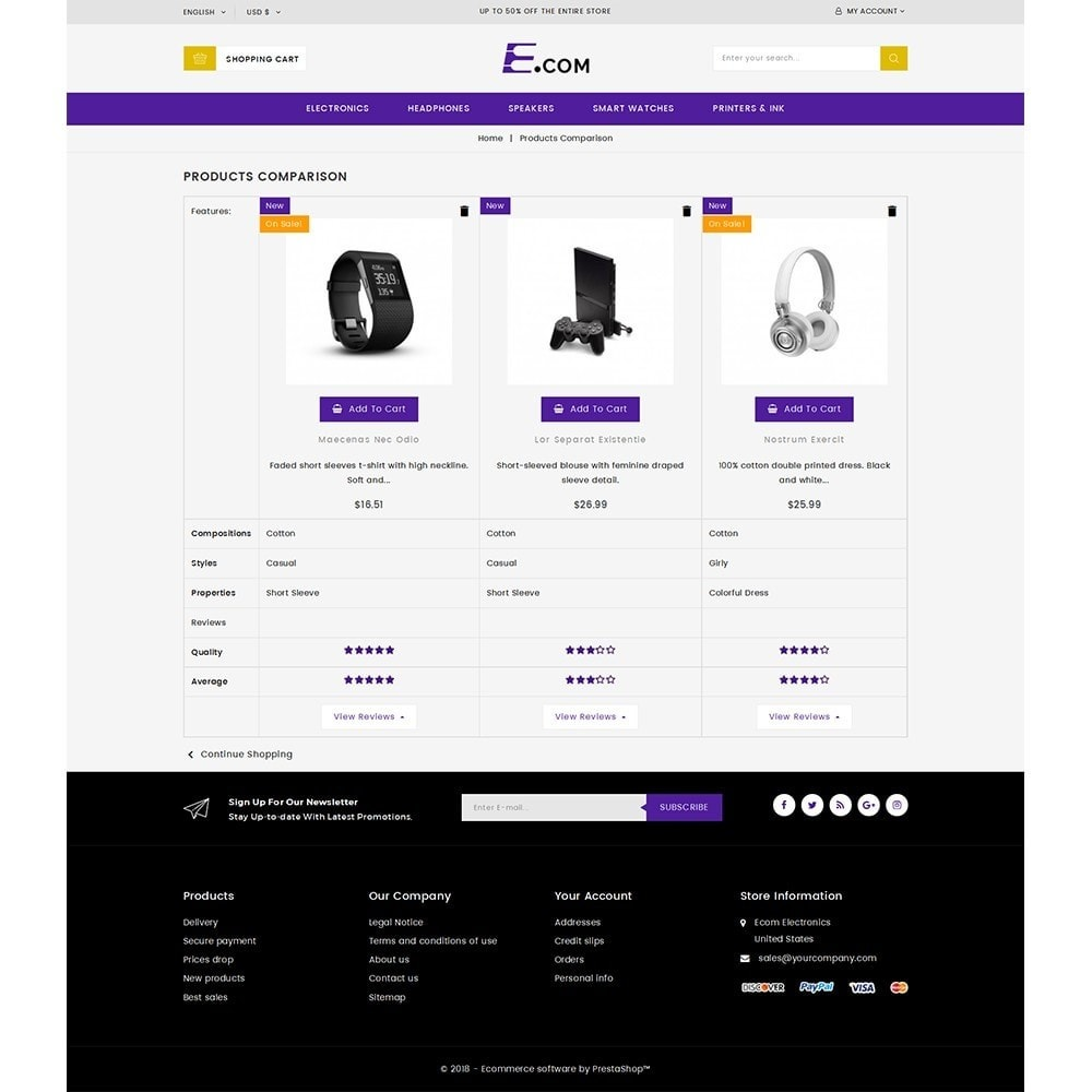theme - Elettronica & High Tech - E-com Electronics Store - 9