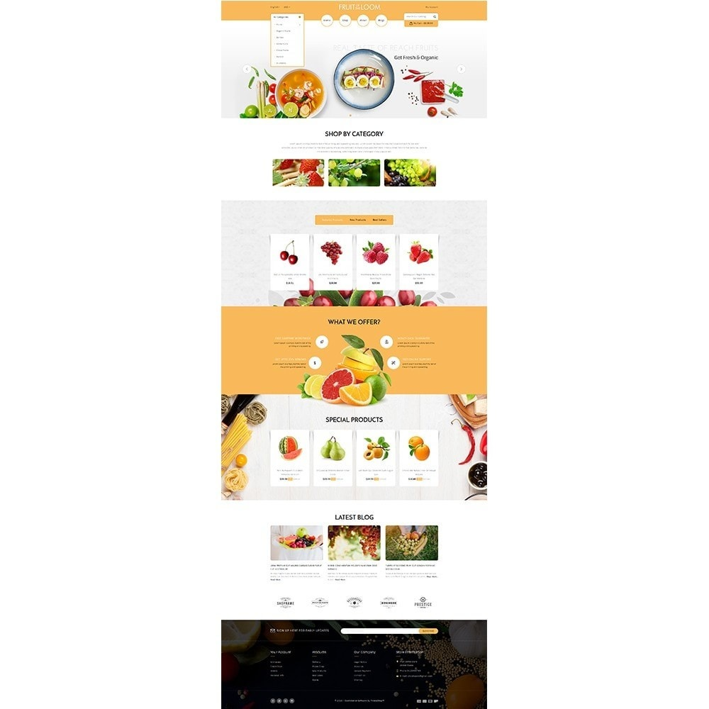 theme - Alimentation & Restauration - Fruits Store - 2
