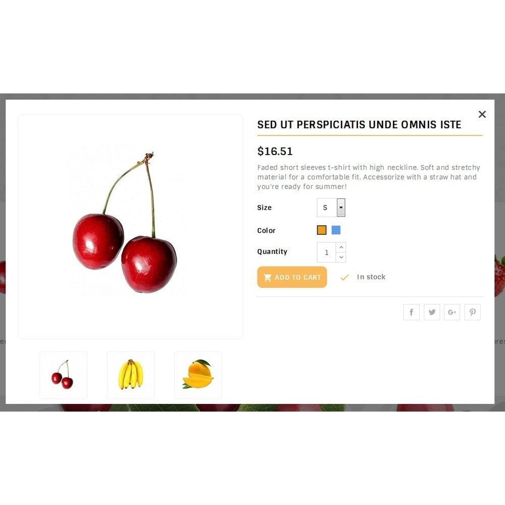 theme - Food & Restaurant - Fruits Store - 7