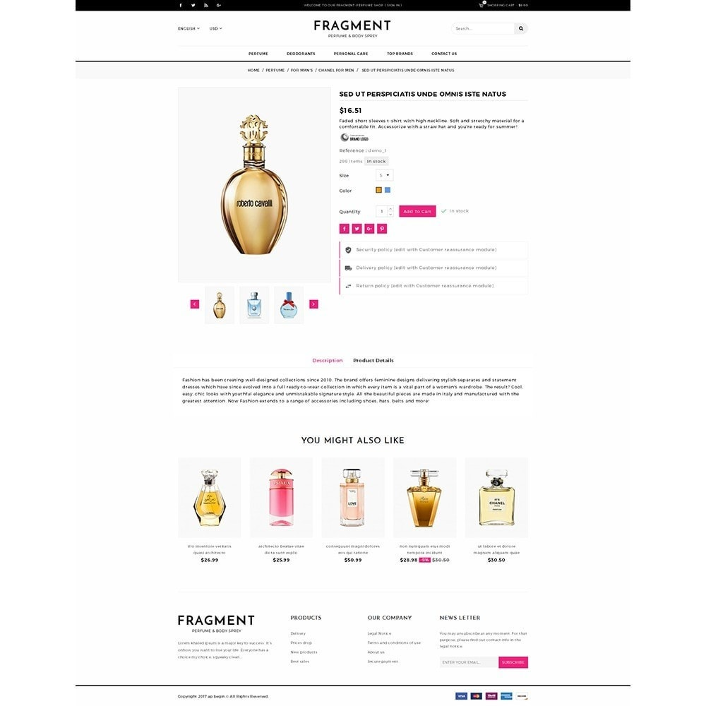 theme - Salud y Belleza - Fragment Perfume Store - 5