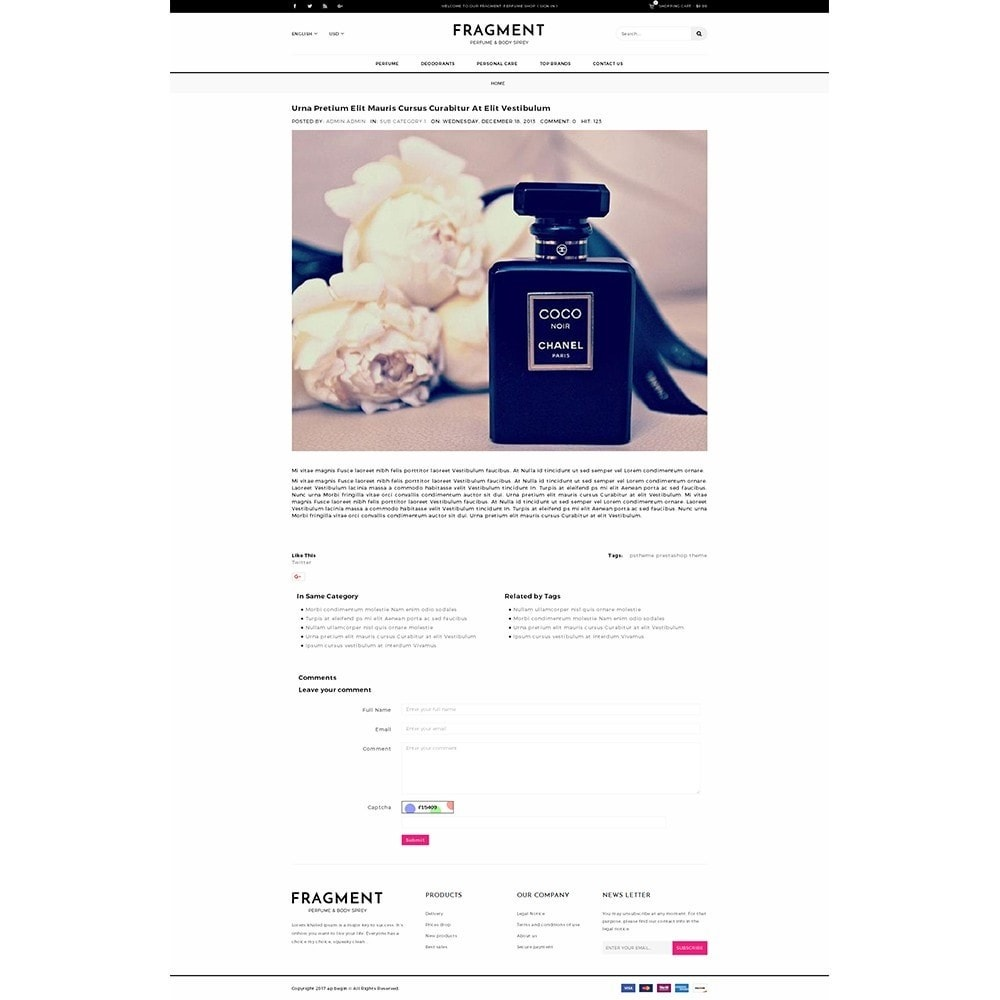 theme - Salud y Belleza - Fragment Perfume Store - 6