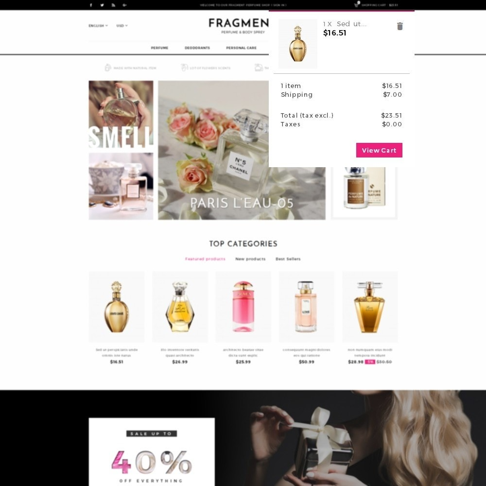 theme - Salud y Belleza - Fragment Perfume Store - 8