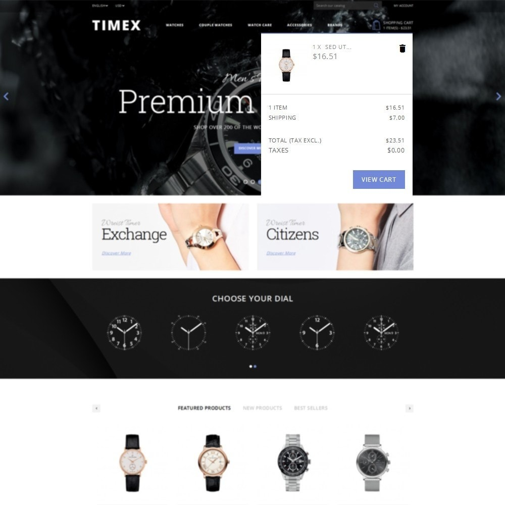 theme - Bellezza & Gioielli - Timex Watch Store - 8