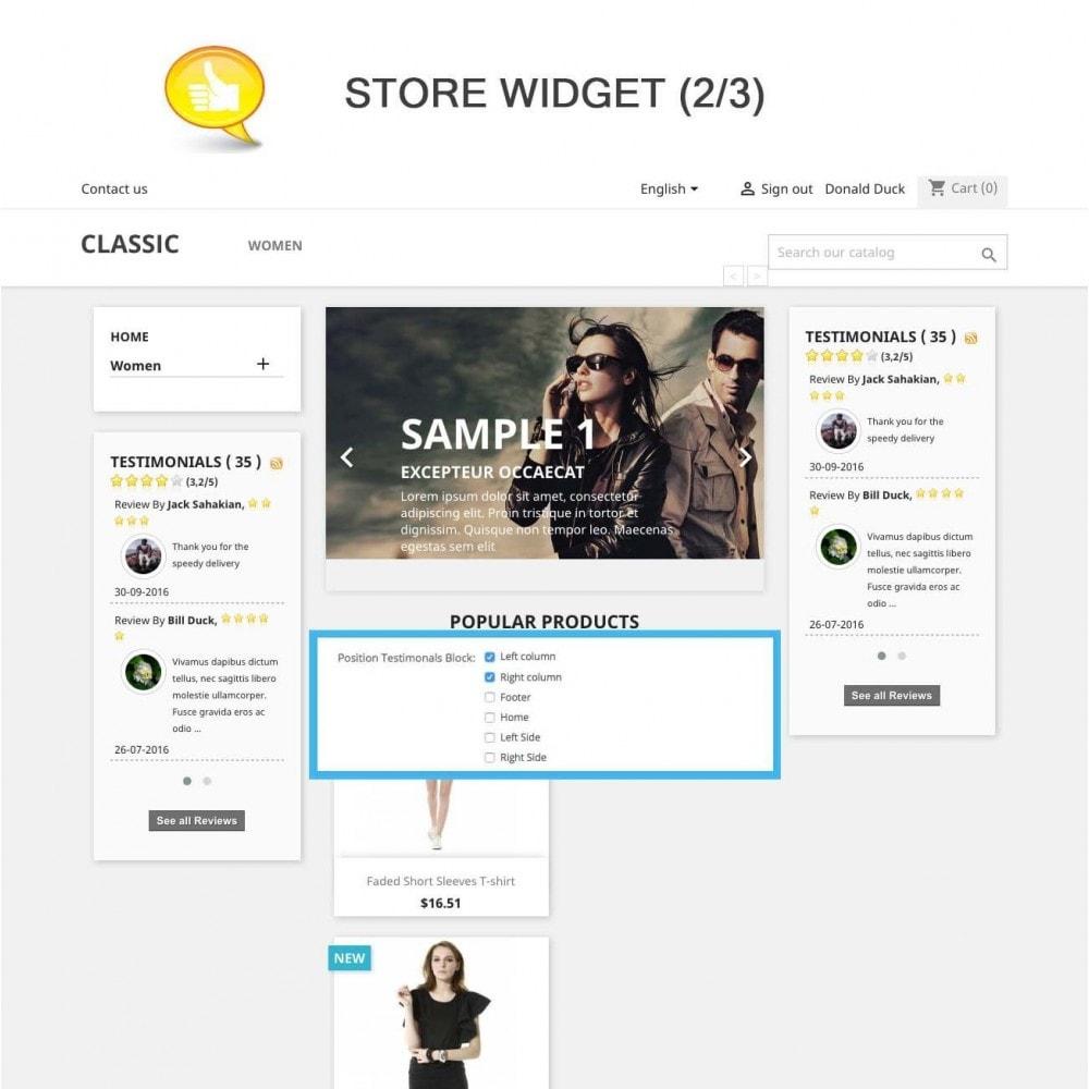 module - Klantbeoordelingen - Shop Reviews + Avatars + Reminder + Rich Snippets - 8