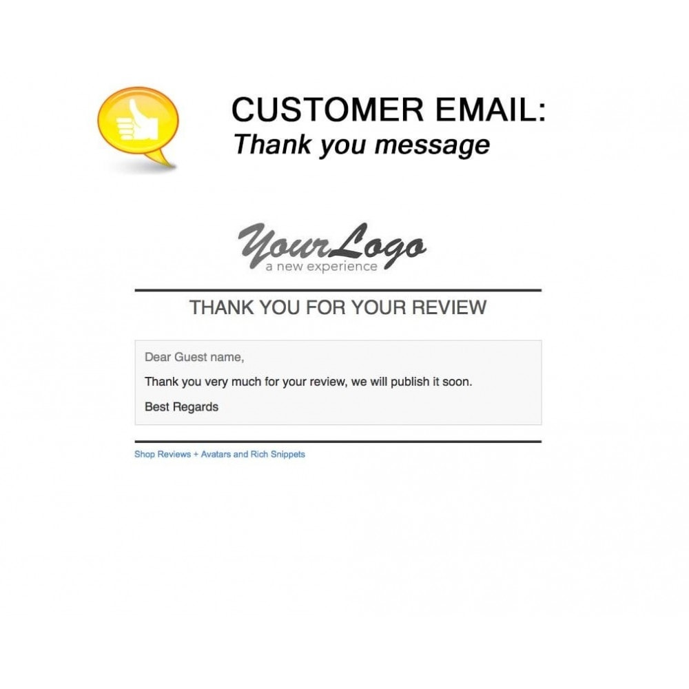 module - Customer Reviews - Shop Reviews + Avatars + Reminder + Rich Snippets - 22