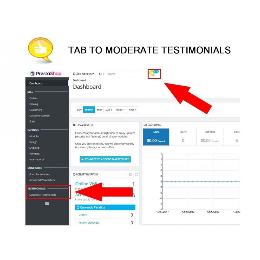 module - Kundenbewertungen - Shop Reviews + Avatars + Reminder + Rich Snippets - 26