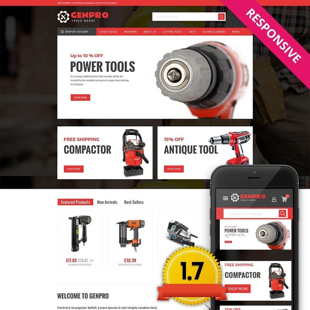 theme - Elektronik & High Tech - Genpro Tool House - 1