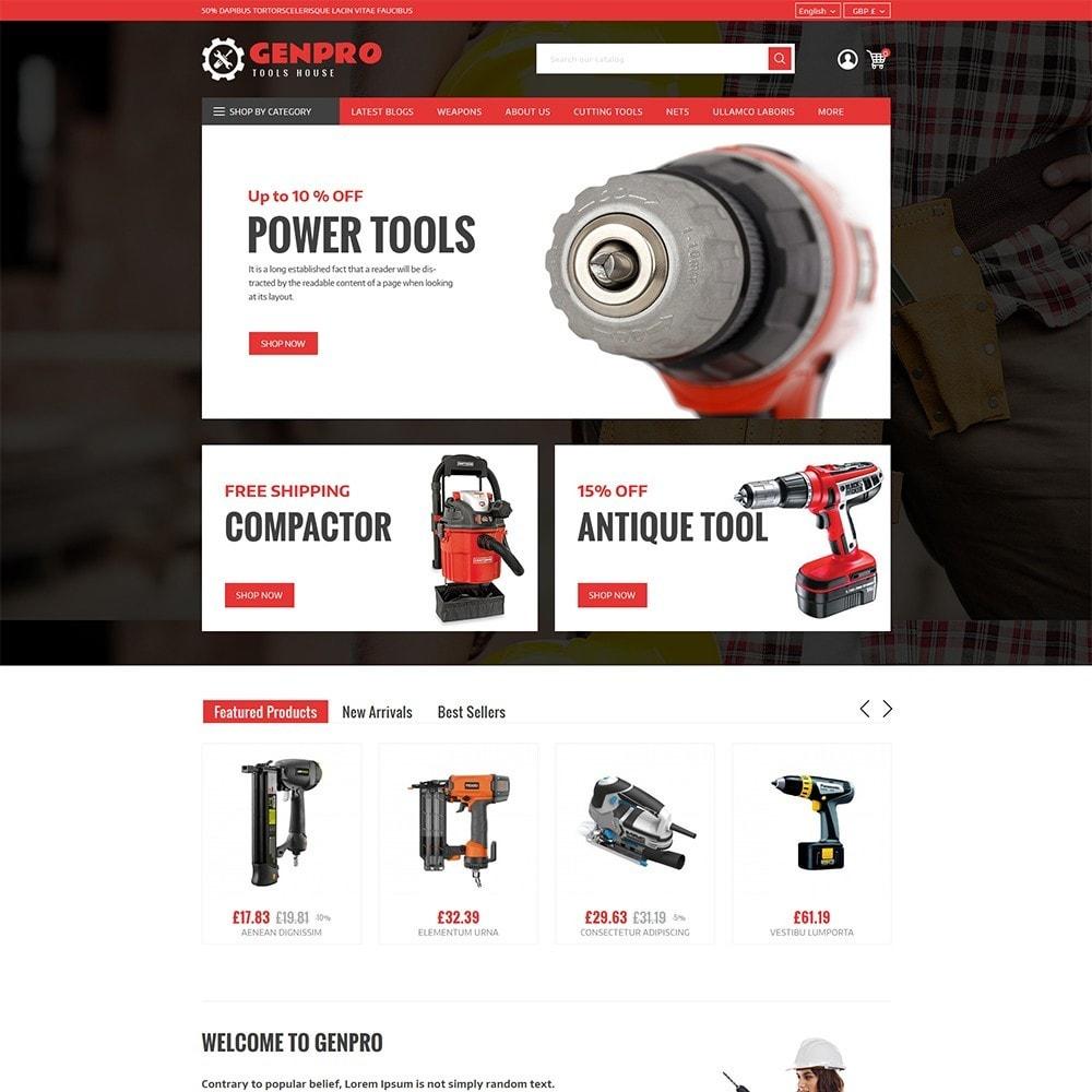 theme - Elektronik & High Tech - Genpro Tool House - 2