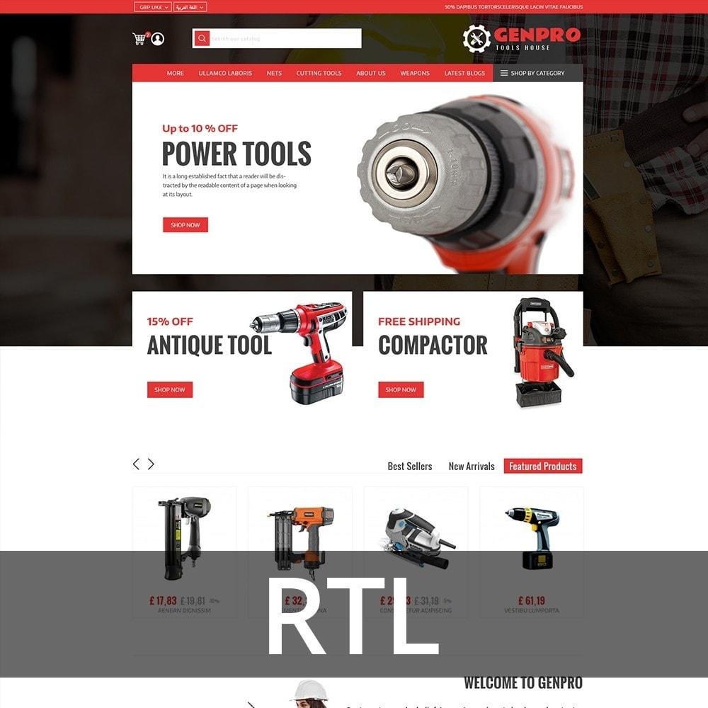 theme - Elektronica & High Tech - Genpro Tool House - 3