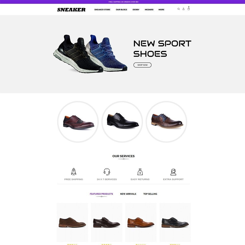 theme - Mode & Schoenen - Sneaker Shoe Store - 2
