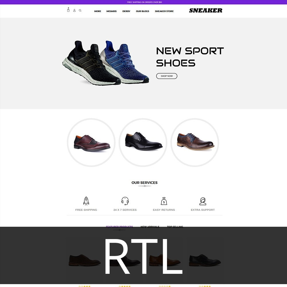 theme - Mode & Schoenen - Sneaker Shoe Store - 3