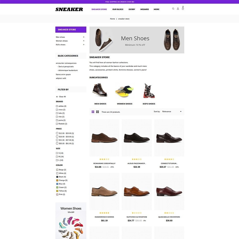 theme - Mode & Schoenen - Sneaker Shoe Store - 5