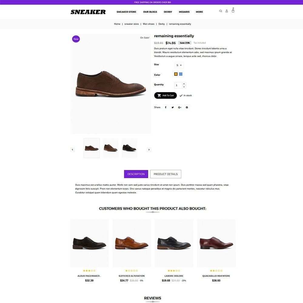theme - Mode & Schoenen - Sneaker Shoe Store - 6