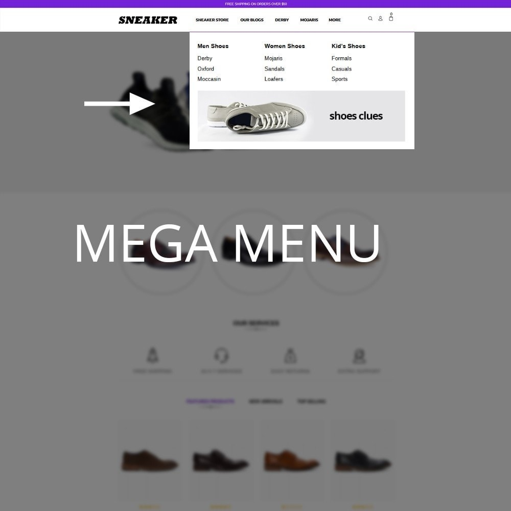 theme - Mode & Schoenen - Sneaker Shoe Store - 8