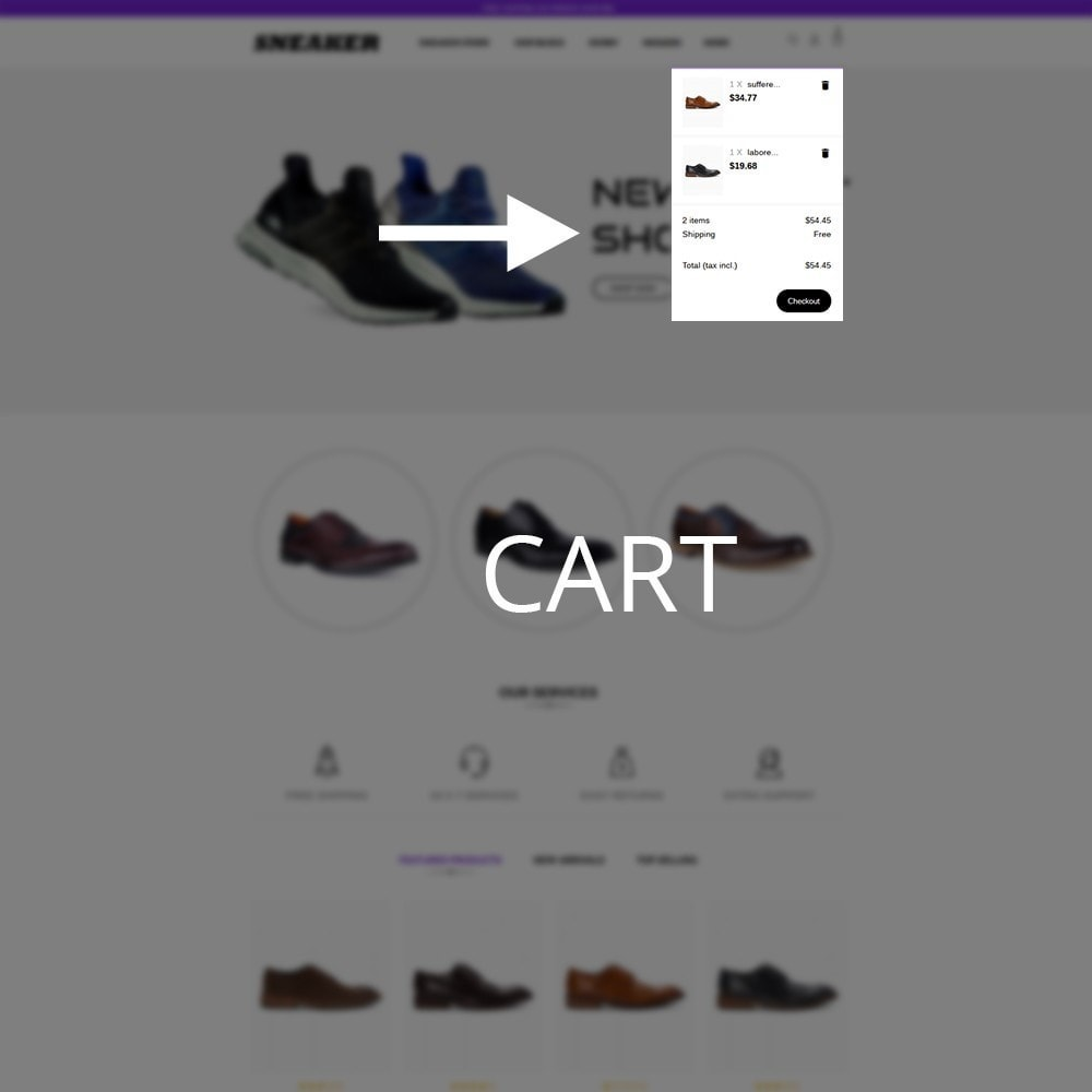 theme - Mode & Schoenen - Sneaker Shoe Store - 9