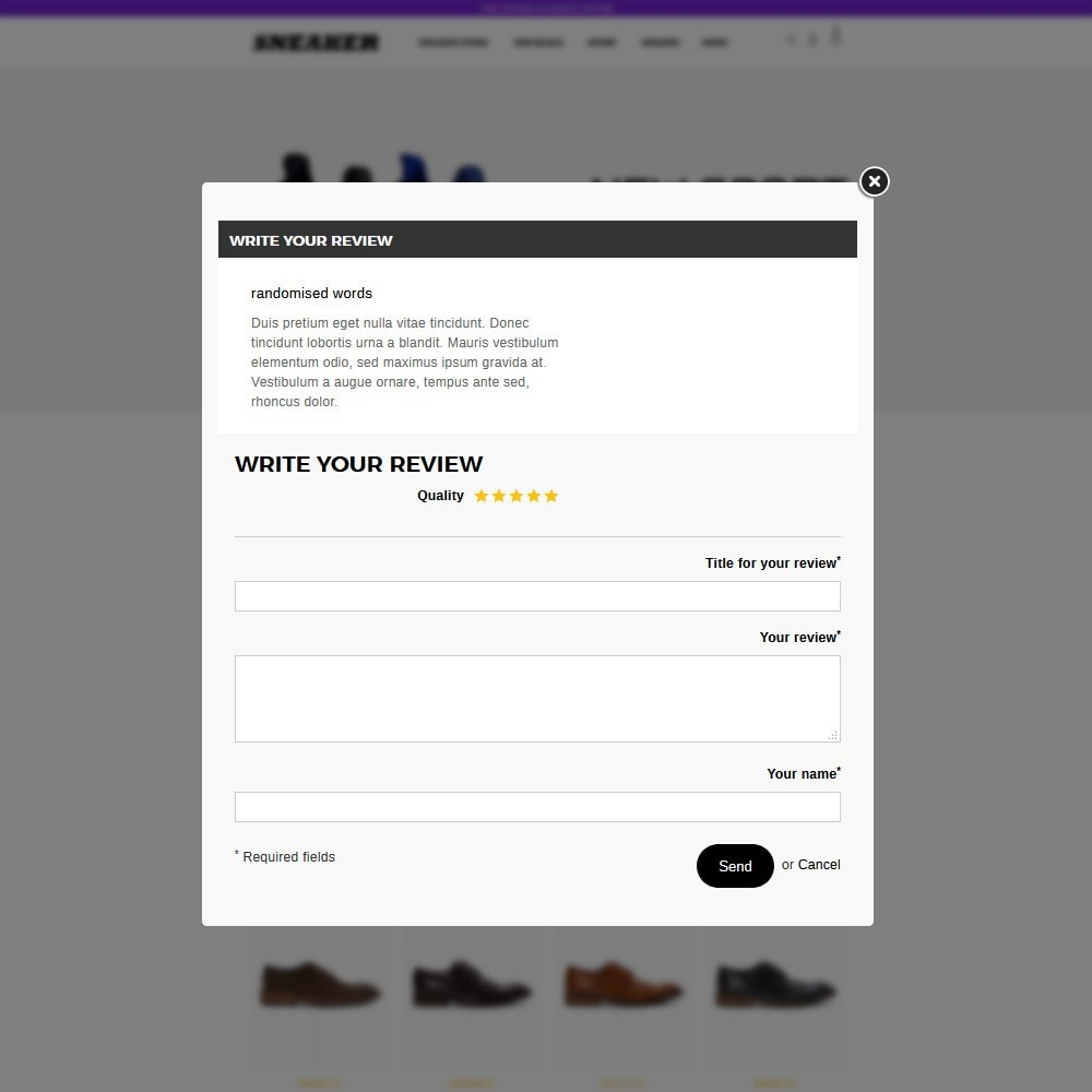 theme - Mode & Schoenen - Sneaker Shoe Store - 12