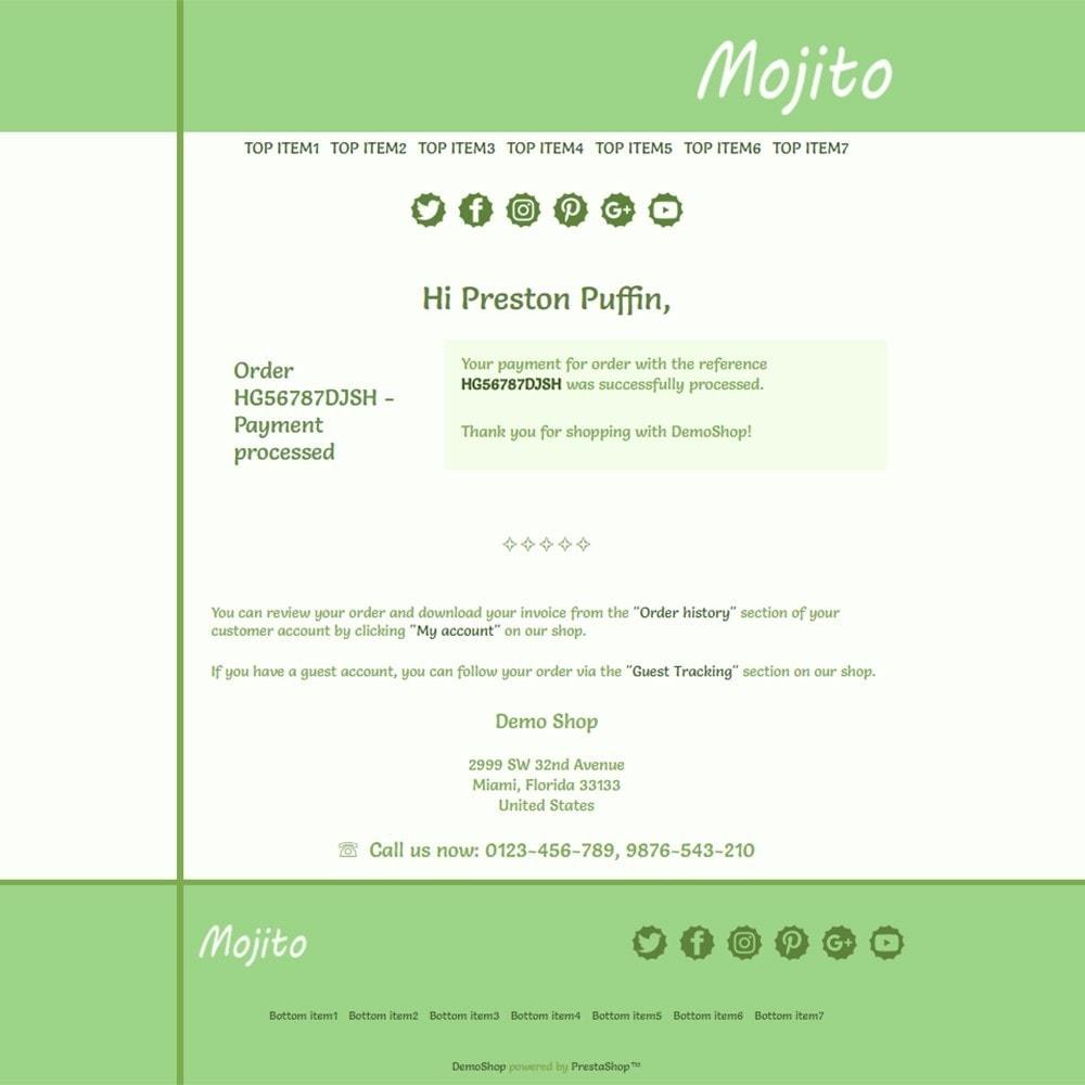 email - PrestaShop-E-Mail-Vorlagen - Mojito - Email templates - 3