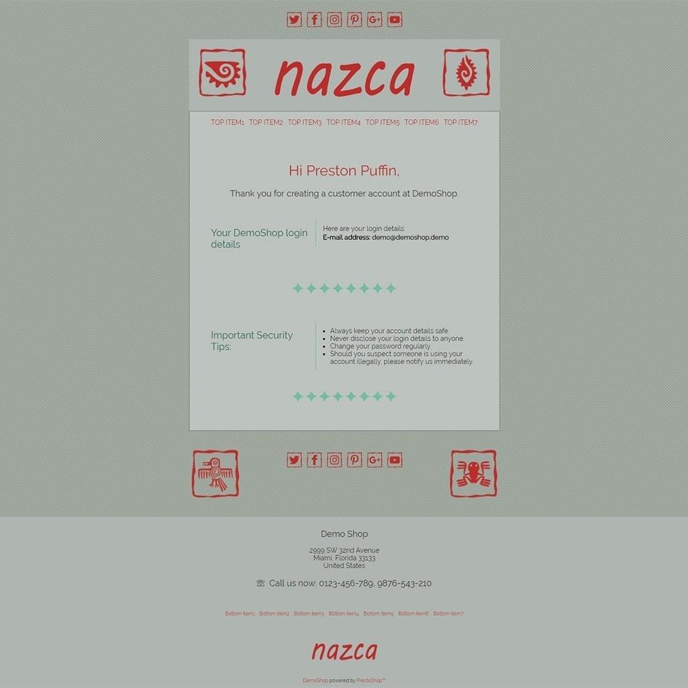email - Modelos de e-mails da PrestaShop - Nazca - Email templates - 2