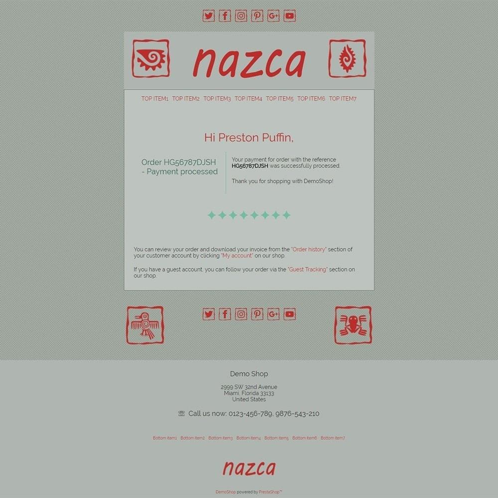 email - Modelos de e-mails da PrestaShop - Nazca - Email templates - 3