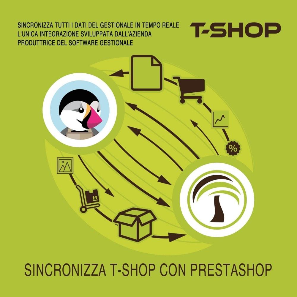 module - Data Import & Export - Importazione Completa da T-Shop a Prestashop - 2