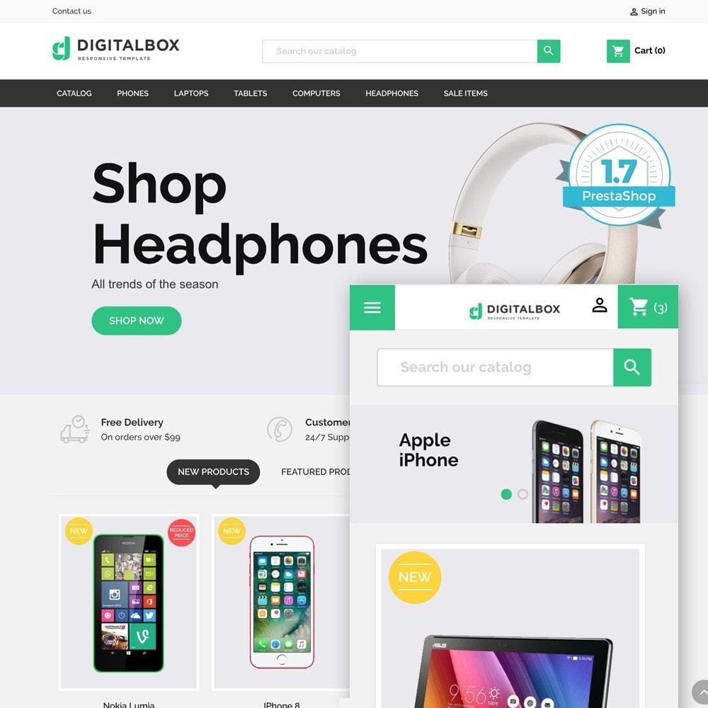 theme - Eletrônicos & High Tech - Digitalbox Electronics Store - 1