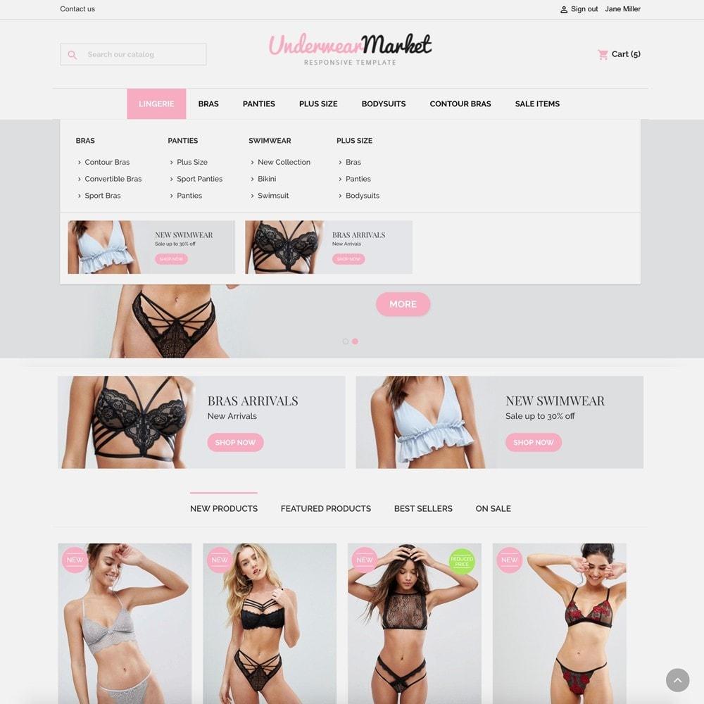 theme - Lingerie & Adulti - Underwear Market - 3