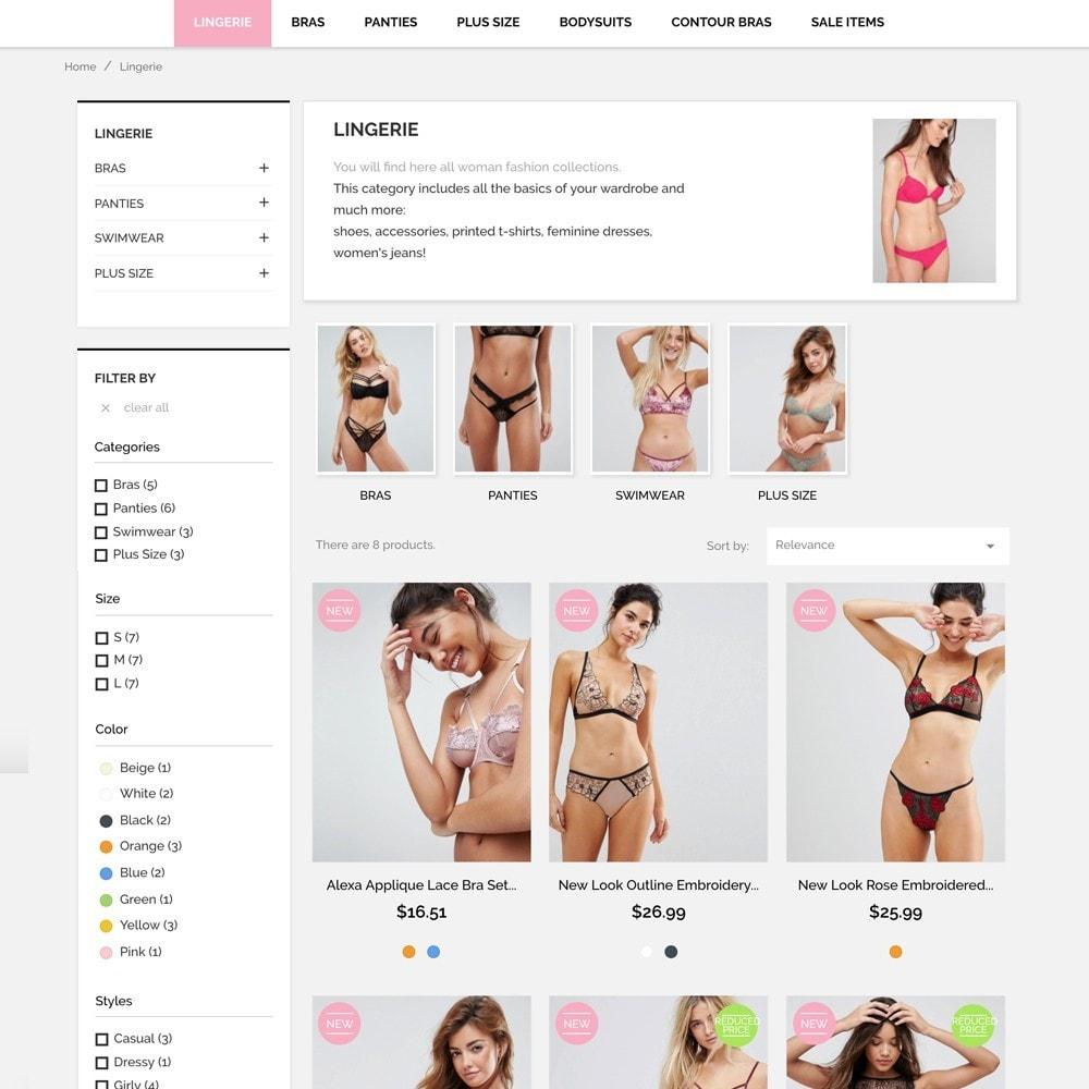 theme - Lingerie & Adulti - Underwear Market - 5